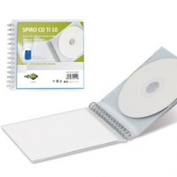 ALBUM SPIRO CD TI 10 PERSONALIZZABILE 14,5X12,5CM