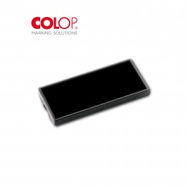 CUSCINETTO MINI POCKET NERO TAMPONE DI RICAMBIO PER TIMBRO COLOP MINI POCKET MISURA 10X39MM