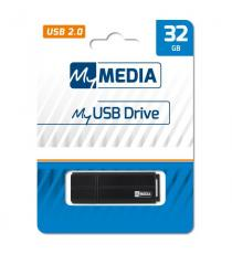 PENDRIVE 16 GB USB MY MEDIA -69261- PENDRIVE RETRAIBILE PRODOTTA DALLA VERBATIM STORE N GO 16GB
