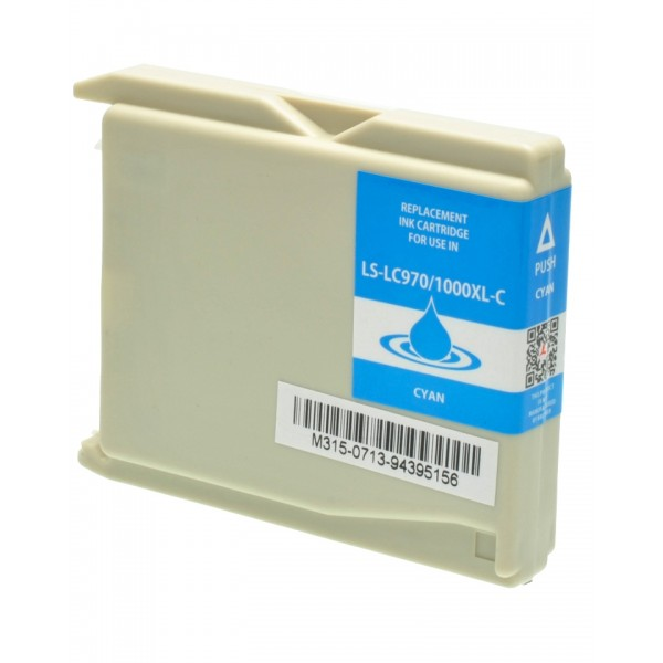 20 Cartucce per Brother dcp130 C 350 C dcp357c dcp560 CN lc1000 lc970