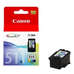 ORIGINALE CANON CL-513 CARTUCCIA ORIGINALE PER CANON MP 240, MP 260, MP 480, MX 330, MX 320. CL513 2971B001 CAPACITA' 4,33MLX3