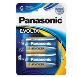 BLISTER 2 mezze torce EVOLTA PANASONIC