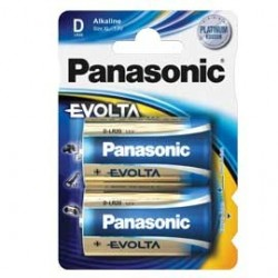 BLISTER 2 torce EVOLTA PANASONIC