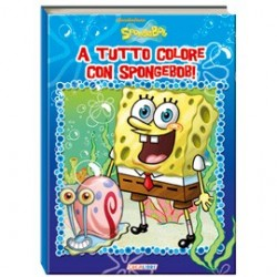ALBUM DA COLORARE - SPONGEBOB COLOR - COLORIAMO INSIEME