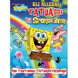 SPONGEBOB2 TATTOO - ALLEGRI TATUAGGI