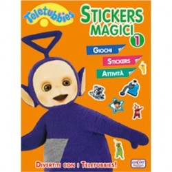 TELETUBBIES3 STOFFA - STICKER MAGICI 1