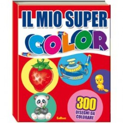 ALBUM DA COLORARE - IL MIO SUPER COLOR N.E.