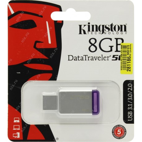 PENDRIVE 8 GB DATATRAVELER 100 G3 USB 3.0 KINGSTON PEN DRIVE