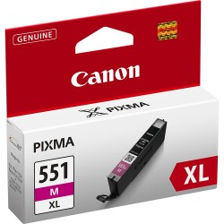 ORIGINALE CANON CLI-551C XL CIANO 6444B001 PER CANON IP 7250 MG5450 MG6350 551XL CAPACITA' 11ML