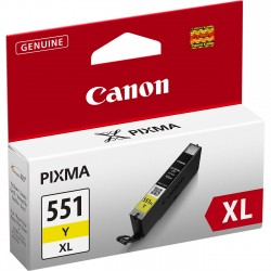ORIGINALE CANON CLI-551M XL MAGENTA 6445B001 PER CANON IP 7250 MG5450 MG6350 551XL CAPACITA' 11ML