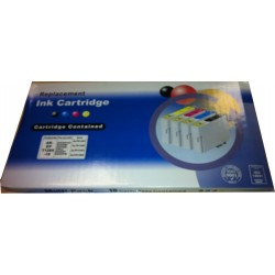 KIT 10 CARTUCCE T1811 T1812 T1813 T1814 COMPATIBILE PER EPSON XP30 XP102 XP202 XP205 18XL N° 4 T1811 + N° 2 T1812/3/4