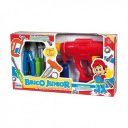 BRICO JUNIOR SET TRAPANO RONCHI SUPERTOYS