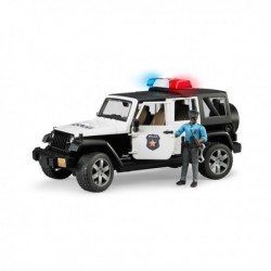 JEEP WRANGLER UNLIMITED RUBICON POLIZIA BRUDER