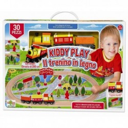 PLAYSET CIRCUITO TRENINO IN LEGNO RONCHI SUPERTOYS