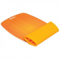 Mousepad con poggiapolsi ISpire arancio Fellowes