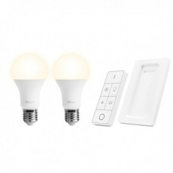 Set luci regolabili wireless: 1 telecomando + 2 lampadine LED TRUST