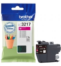 ORIGINALE BROTHER LC-3217C CIANO PER BROTHER MFC J5330DW,J5730DW,J6530DW,J6930DW LC3217 CAPACITA' 550 PAGINE