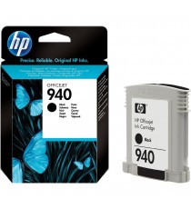 ORIGINALE HP 940XL NERA PER HP PRO 8000W,PRO 8500W 910G 940XL C4906A CAPACITA' 69ML