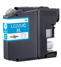 CARTUCCIA LC22UBK NERA COMPATIBILE PER BROTHER MFC-J985DW DCP-J785DW LC-22UXL 50ML 2.400 PAGINE