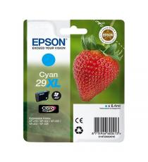 ORIGINALE EPSON T2992XL CIANO PER EPSON EXPRESSION HOME XP235 XP332 XP335 XP432 XP435 2991 29XL C13T29924010 CAPACITA' 6,4ML