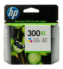 CARTUCCIA ORIGINALE HP 300C COLORE PER HP D2560 F4210 F4224 F4272 F4280 CC643EE CAPACITA' 6ML(2mlX3)