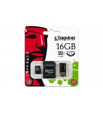 MICRO SD 32GB KINGSTON MULTI KIT MOBILITY KIT CON ADATTATORE SD E USB CLASSE 4 MBLY4G2/32GB Scheda microSDHC – Classe 4