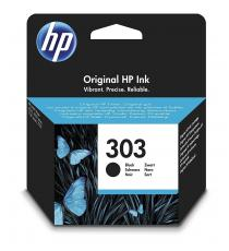 CARTUCCIA HP 302XL NERA ORIGINALE PER HP 3830 3832 4650 1110 2130 3630 4520 F6U68AE CAPACITA' 480 PAGINE