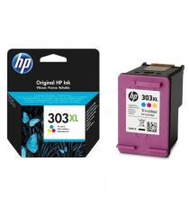 CARTUCCIA HP 303 COLORE ORIGINALE T6N01AE PER HP ENVY PHOTO 6220 6230 7130 7830 165 PAGINE