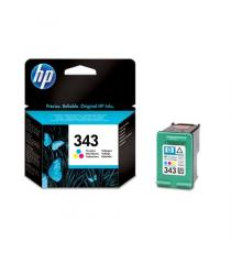CARTUCCIA HP 343 COLORE RIGENERATA PER HP DeskJet 460XX/5740/5745/6520 C8766E CAPACITA' 18ML(6MLX3)