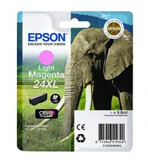ORIGINALE EPSON T2435 LIGHT CIANO C13T24354012 PER EPSON XP750 XP850 XP860 XP950 XP55 24XL C13T24354010 740 PAGINE 9.8ml