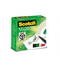 Nastro adesivo Scotch Magic 810 invisibile permanente 19 mm x 33 mt trasparente Scotch