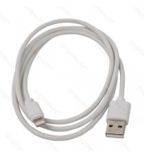 CAVO USB LIGHTNING DA 8 PIN 1MT IN BLISTER AIGOSTAR PIN DA 100CM PER IPHONE 5 - IPHONE 6 - IPHONE 7 BIANCO 1A OD:3.3mm