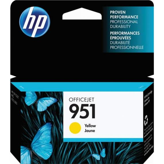 CARTUCCIA ORIGINALE HP 951 MAGENTA CN051AE ORIGINALE PER HP PRO8100 PRO8600E PRO8600PLUS CAPACITA' 1.500 PAGINE