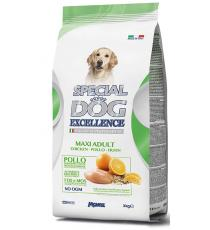 CROCCHETTE PER CANI 1.5KG PUPPY E JUNIOR CON POLLO,RISO,AGRUMI SPECIAL DOG EXCELLENCE ALL BREEDS PER CUCCIOLI - MONGE