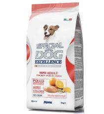 CROCCHETTE PER CANI ADULTI 3KG CON POLLO,RISO,AGRUMI SPECIAL DOG EXCELLENCE MEDIUM ADULT ITALIAN SUPERPREMIUM - MONGE