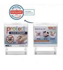 Timbro Printer 20 G7 Protect KIDS autoinchiostrante 14 x 38 mm Colop