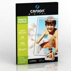 CARTA INKJET A4 180GR 100FG PHOTO GLOSSY EVERYDAY CANSON