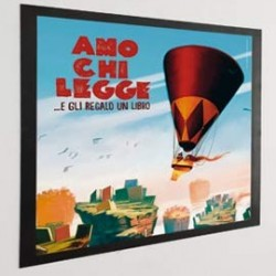 DURAFRAME Poster A2 42x59,4cm NERO DURABLE