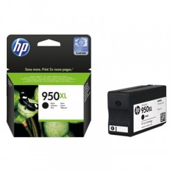 CARTUCCIA HP 950XL NERA COMPATIBILE PER HP PRO8100 PRO8600E PRO8600PLUS CN045AE 950BK CAPACITA' 50ML
