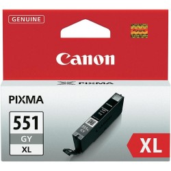 ORIGINALE CANON CLI-551GY XL GRIGIA 6447B001 PER CANON IP 7250 MG5450 MG6350 551XL CAPACITA' 11ML