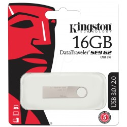 PENDRIVE 16 GB SE9 KINGSTON PEN DRIVE 16.0 GB SLIM USB 2.0 KINGSTON PEN DRIVE -DTSE9H/16GB-