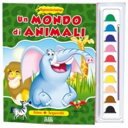 ALBUM DA COLORARE - GD SUPERCOLORISSIMI2 - MONDO DI ANIMALI