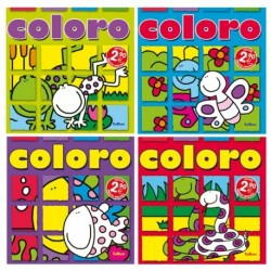ALBUM DA COLORARE - COLORO soggetti assortiti