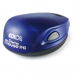 TIMBRO COLOP R30 ROTONDO STAMP MOUSE AUTOINCHIOSTRANTE PERSONALIZZATO  TASCABILE COLOP R30 DIAMETRO 30mm QUALITA' PROFESSIONALE