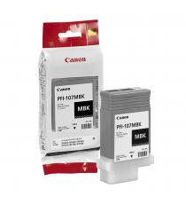CANON PFI-107BK PHOTO BLACK ORIGINALE PER CANON IPF 670 IPF 680 IPF 685 IPF 770 IPF 780 IPF 785 PFI107 6705B001 130ml