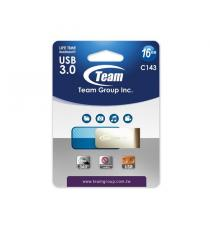 PENDRIVE 16 GB USB TEAMGROUP 3.0 BLU TC143316GL01 C143 ELITE 16GB LIFE TIME WARRANTY