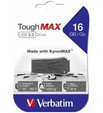 PENDRIVE 16GB USB VERBATIM TOUGHMAX 49330 2.0 INDISTRUTTIBILE - RESISTE A IMMERSIONE FINO A 30MT